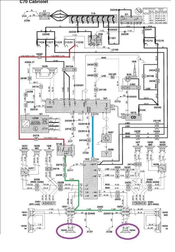 omc 5.7 wiring harness