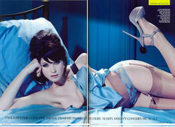Gemma Arterton Sexy in Lingerie for April GQ 2010 - Hot Celebs Home