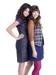 Selena Gomez and Demi Lovato - 2008 Richard Reinsdorf