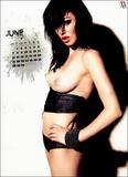 Vikki Blows topless in her 2010 Calendar - Hot Celebs Home