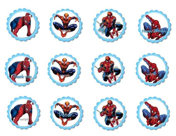 Is for 12 cupcake toppers favour tags stickers featuring