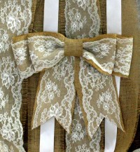 Pew ends on Pinterest | White Hydrangeas, Pew Bows and ...
