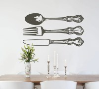 Decals On The Wall In Kitchen | afreakatheart