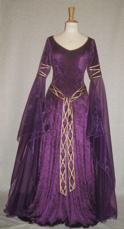 medieval wedding dresses celtic elvish elvish wedding dress Medieval Wedding Dresses Celtic Elvish