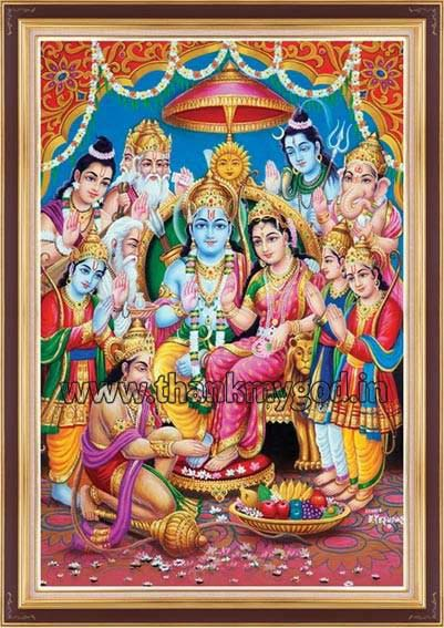 Hindu God Wallpaper Full Hd Lord Ramar Pattabhishekam Manufacturer In Madurai Tamil