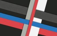 Wallpaper white, line, blue, red, grey, black, design ...