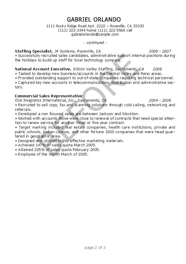 Resume Editing Samples - ResumesPlanet