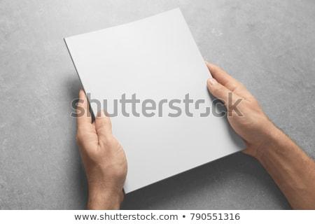 Blank Brochure Template vector illustration © Ganna Sereda