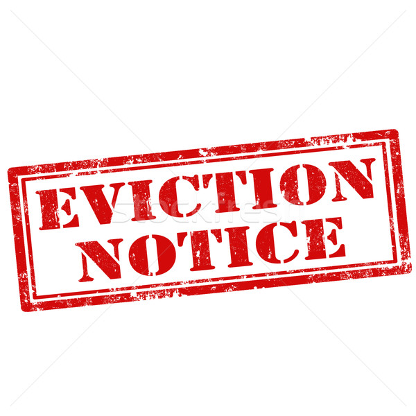 Eviction Notice vector illustration © Neculai Carmen (carmen2011 - eviction notice