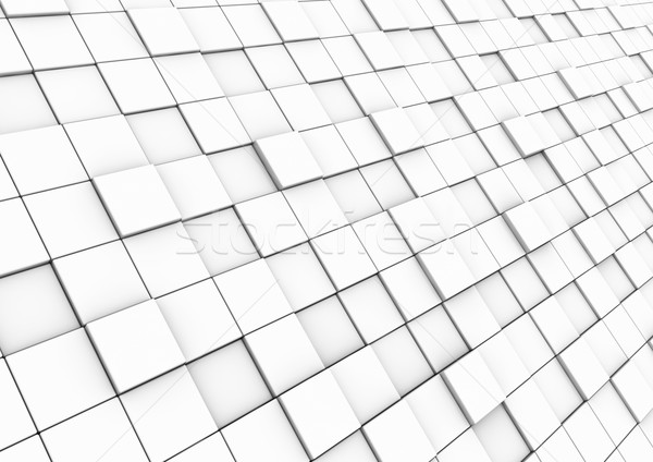 3d cube wall area stock photo © darius l (dariusl) (#739408