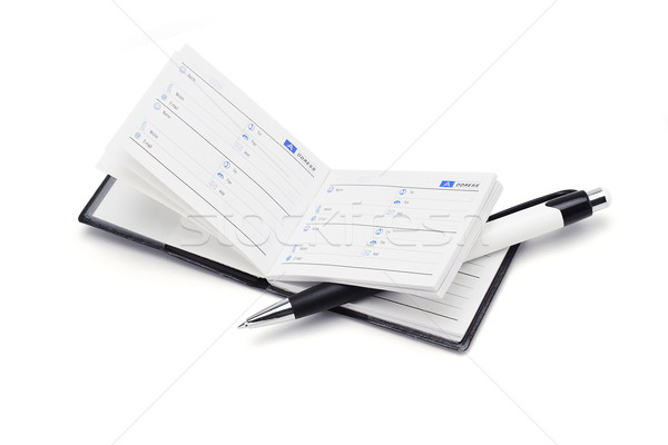 Address book and pen stock photo © Yiap See Fat (dezign56) (#4864399