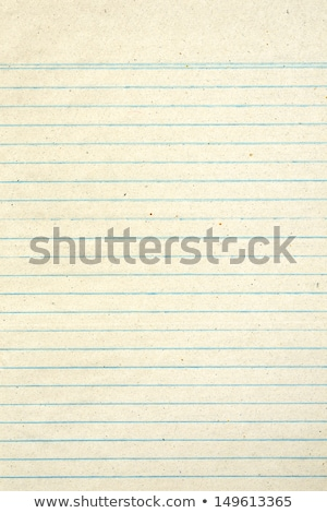 Old notebook page lined paper stock photo © Stephen Rees (latent - lined page