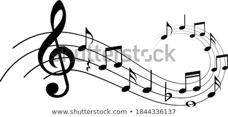 Musical staves vector illustration © Maxim Pavlov (m_pavlov
