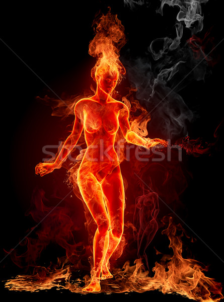 3d Dj Wallpaper Free Download Dancing Fire Girl Stock Photo 169 Misha 141496 Stockfresh