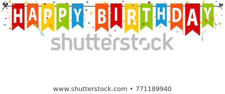 abstract colorful happy birthday background vector illustration - birthday backround
