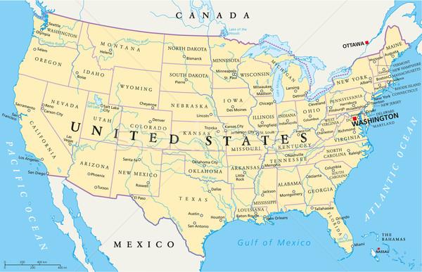 Özgün Resimler - ( Yeni Ve Güzel Resimler ) - Amerika Haritası