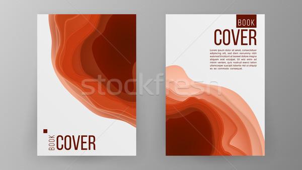 Modern Brochure Design Vector Cover Book Minimal Portfolio
