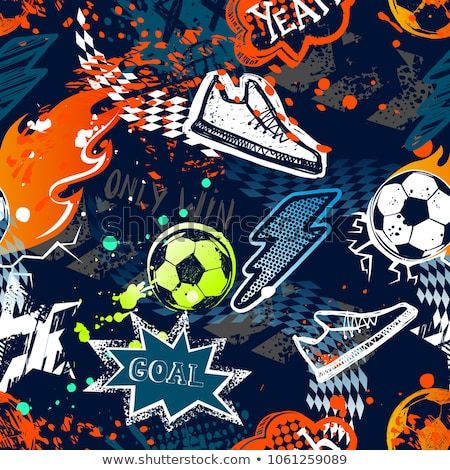 Rohit Name 3d Wallpaper Abstract Football With Colorful Star Vector Illustration