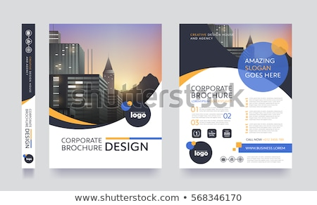 modern creative business leaflet template in a4 size vector - leaflet template