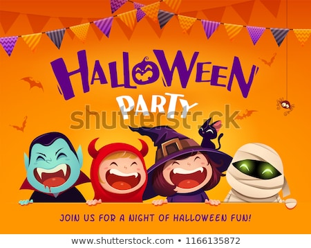 Thanksgiving and Halloween Party Invite Background stock photo