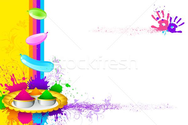 Holi 3d Wallpaper Name Holi Wallpaper Vector Illustration 169 Vectomart 1810120