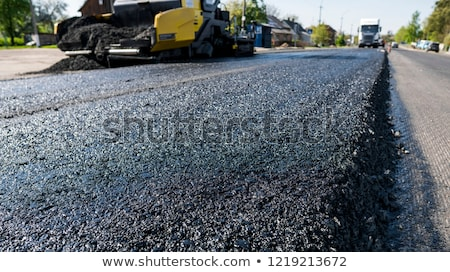 asphalt paver machine stock photo © Vladimir Rublev (vlaru