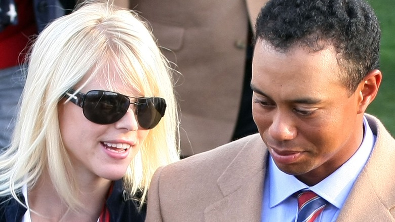 tiger woods ex wife new photos