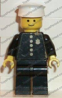 LEGO 600-2 Police Patrol Car Set Parts Inventory and ...