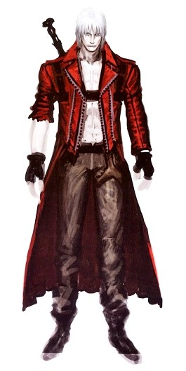 Dante On This Page Quotes Wallpaper Image Dmc3 Dante Art Png Devil May Cry Wiki Wikia