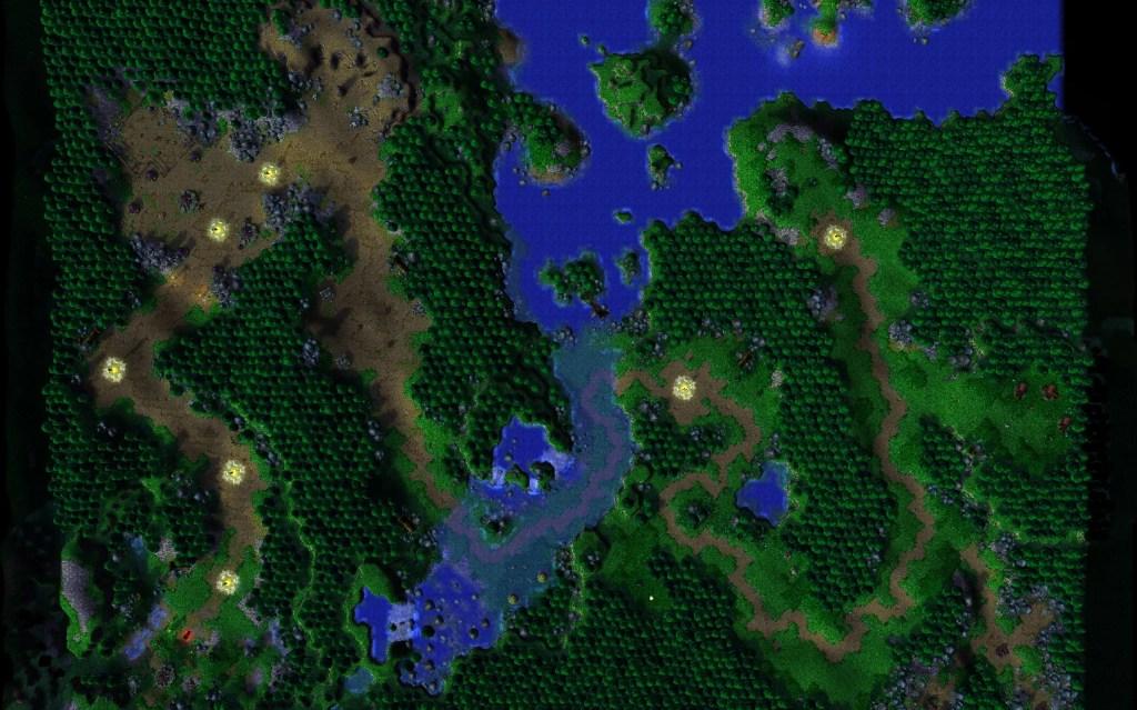 warcraft map ner zhul s return