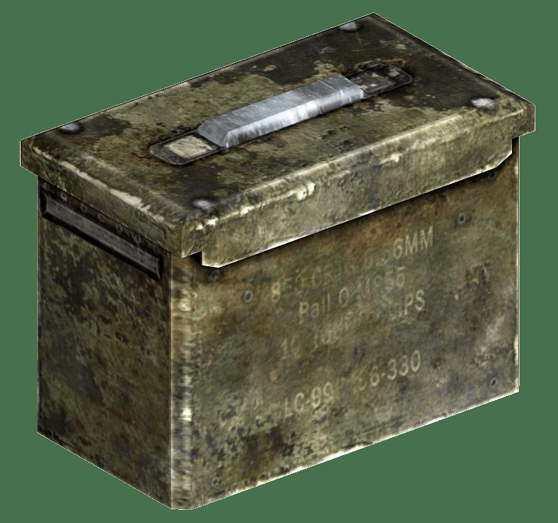 Ammunition Box The Fallout Wiki Fallout New Vegas And