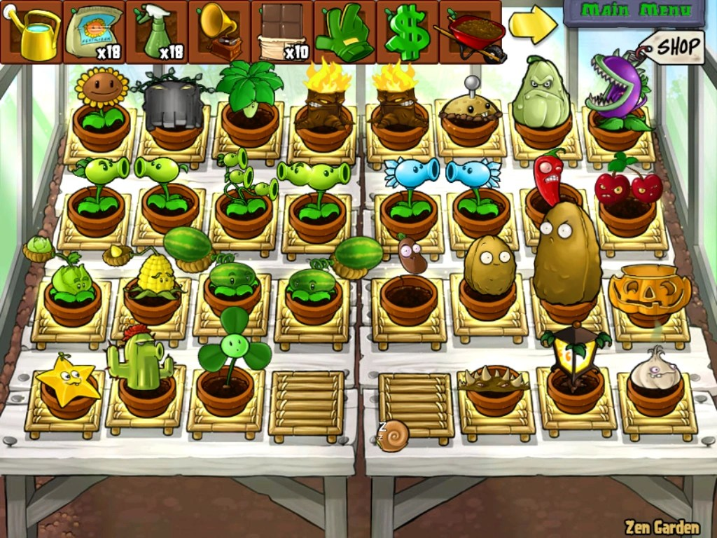 Zen Garten Plants Vs Zombies Image Zen Garden Complete Day Png Plants Vs Zombies