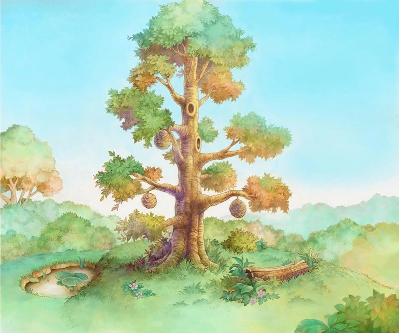 Winnie The Pooh Fall Desktop Wallpaper 100 Acre Wood The Keyhole Ye Olde Kingdom Hearts Fansite