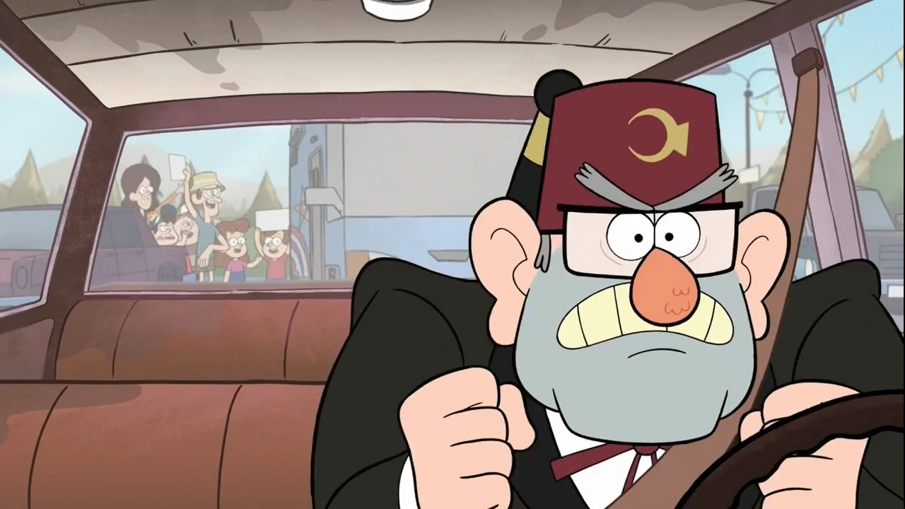Gravity Falls Dipper And Mabel Wallpaper Image S1e4 Stan Angry Png Gravity Falls Wiki