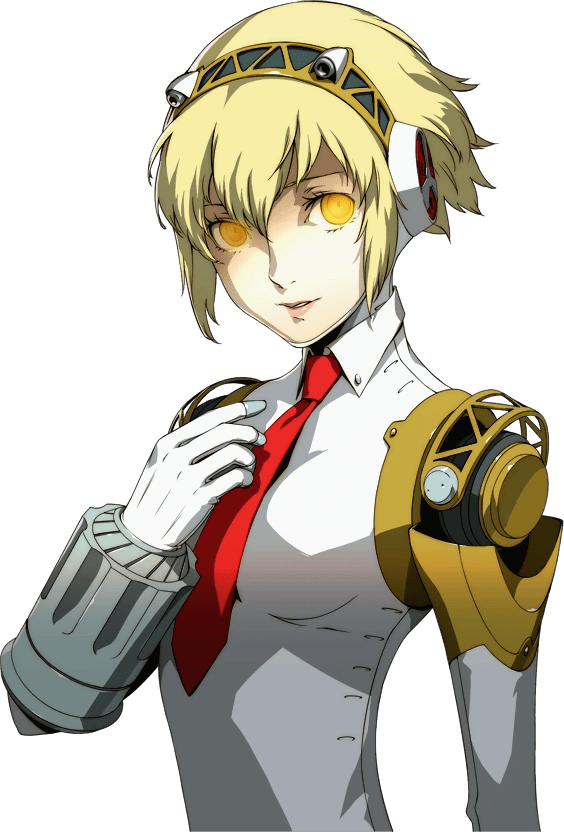 Persona 4 Cute Chie Wallpaper Aigis P4u Implied Nyarly