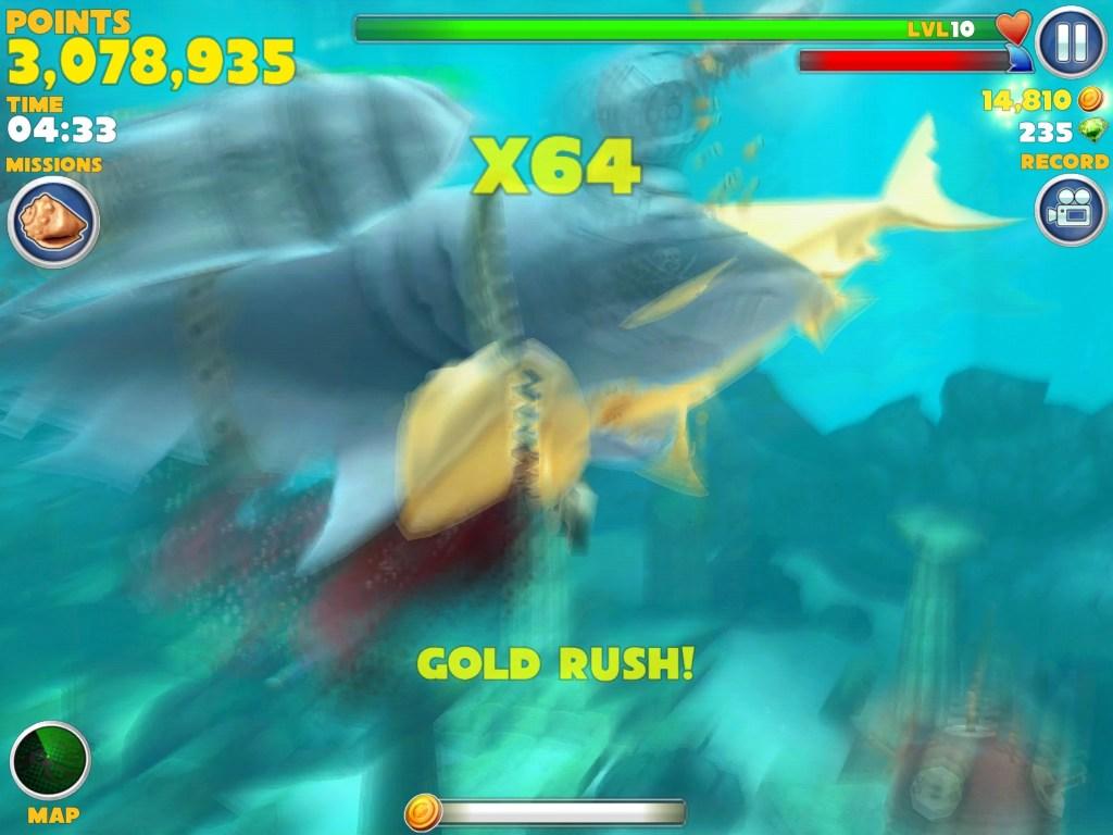 evil hungry shark evolution megalodon gameonlineflashcom