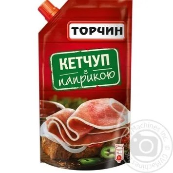 Torchin Ketchup With Paprika 300g → Canned food and seasonings