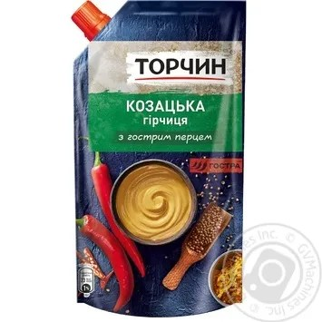 Torchin Kozatska Mustard 130g → Canned food and seasonings → Sauce