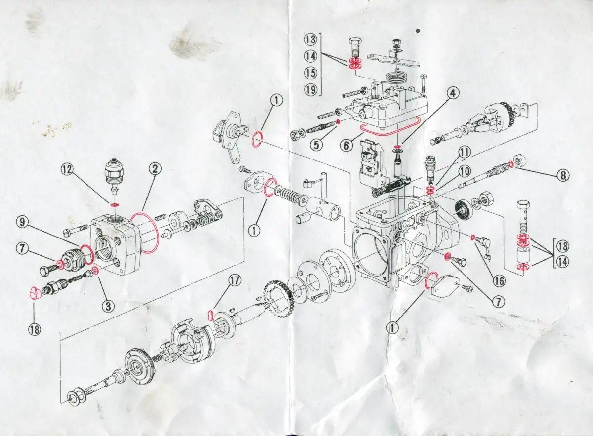 2002 f350 gas Motor diagram