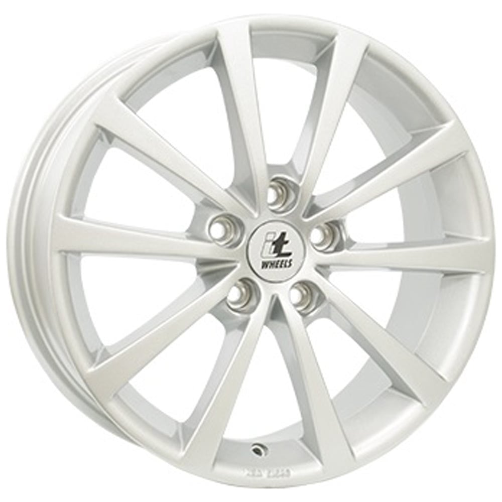 Action Wielen Aluminium Velg It Wheels Alice Zilver 6.5x16 5x114.3 Et45
