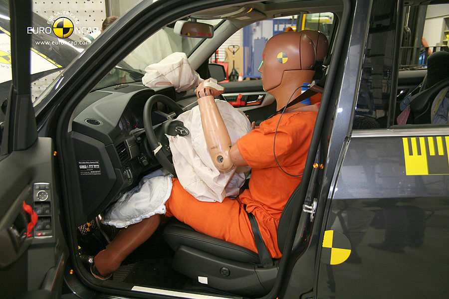 Airbag Test Curtain Airbag Ist Am Sichersten Firmenauto - Vorhang Airbag