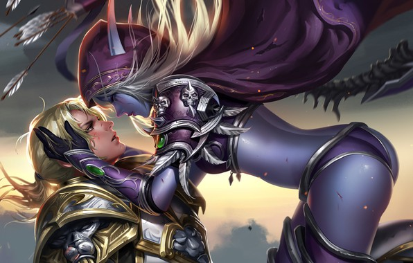 Aviation Wallpaper Iphone X Wallpaper World Of Warcraft Sylvanas Windrunner Anduin