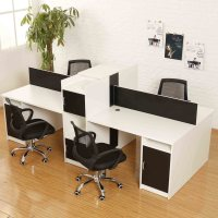 Buy Fashion simple combination of 4 person staff office
