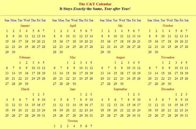 Calendar Calendar New Gregorian Calendar Reform The Christian Calendar Calendars Webexhibits Common Civil Calendar And Time Calendar Wiki