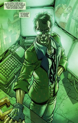 Between Arkham Asylum and Arkham City Incident