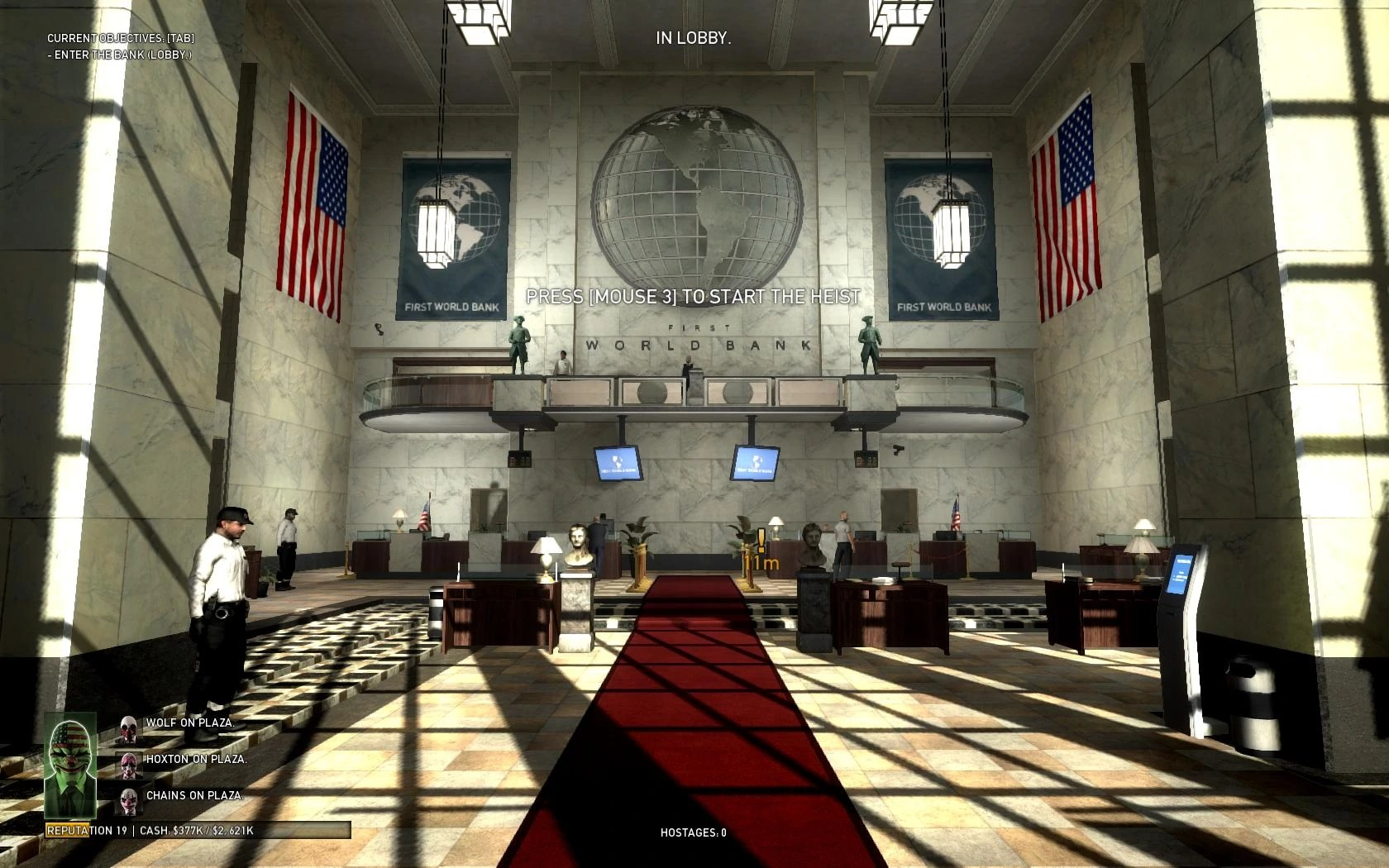 Pc Game 3d Wallpaper First World Bank Walkthrough Payday Wiki