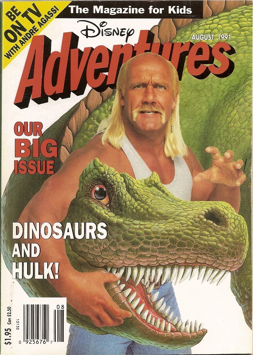 Hulk Hogan Wiki Image Disney Adventures August 1991 Jpg Disneywiki