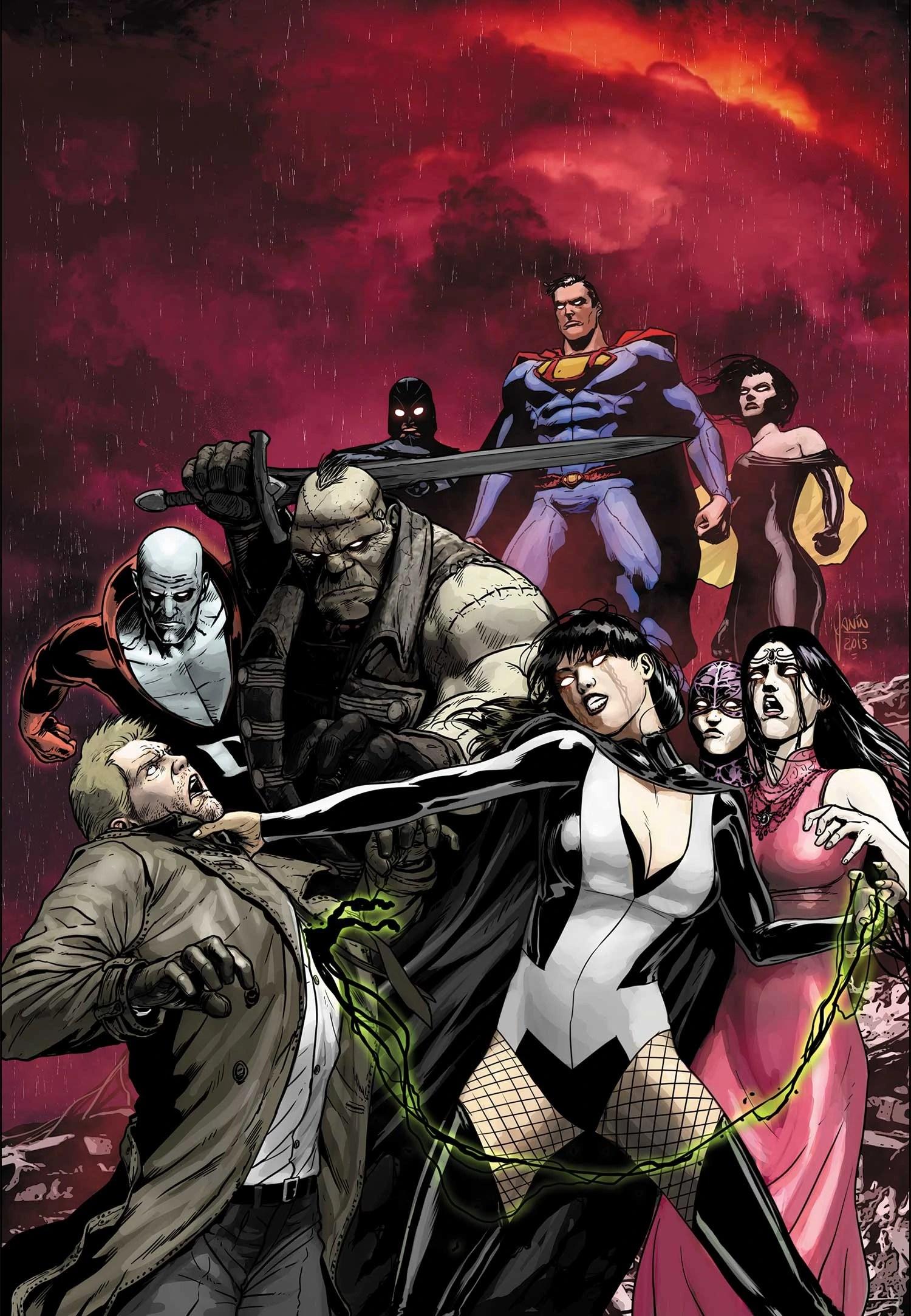 Anime Heroes Wallpaper Justice League Dark Vol 1 24 Dc Database Wikia