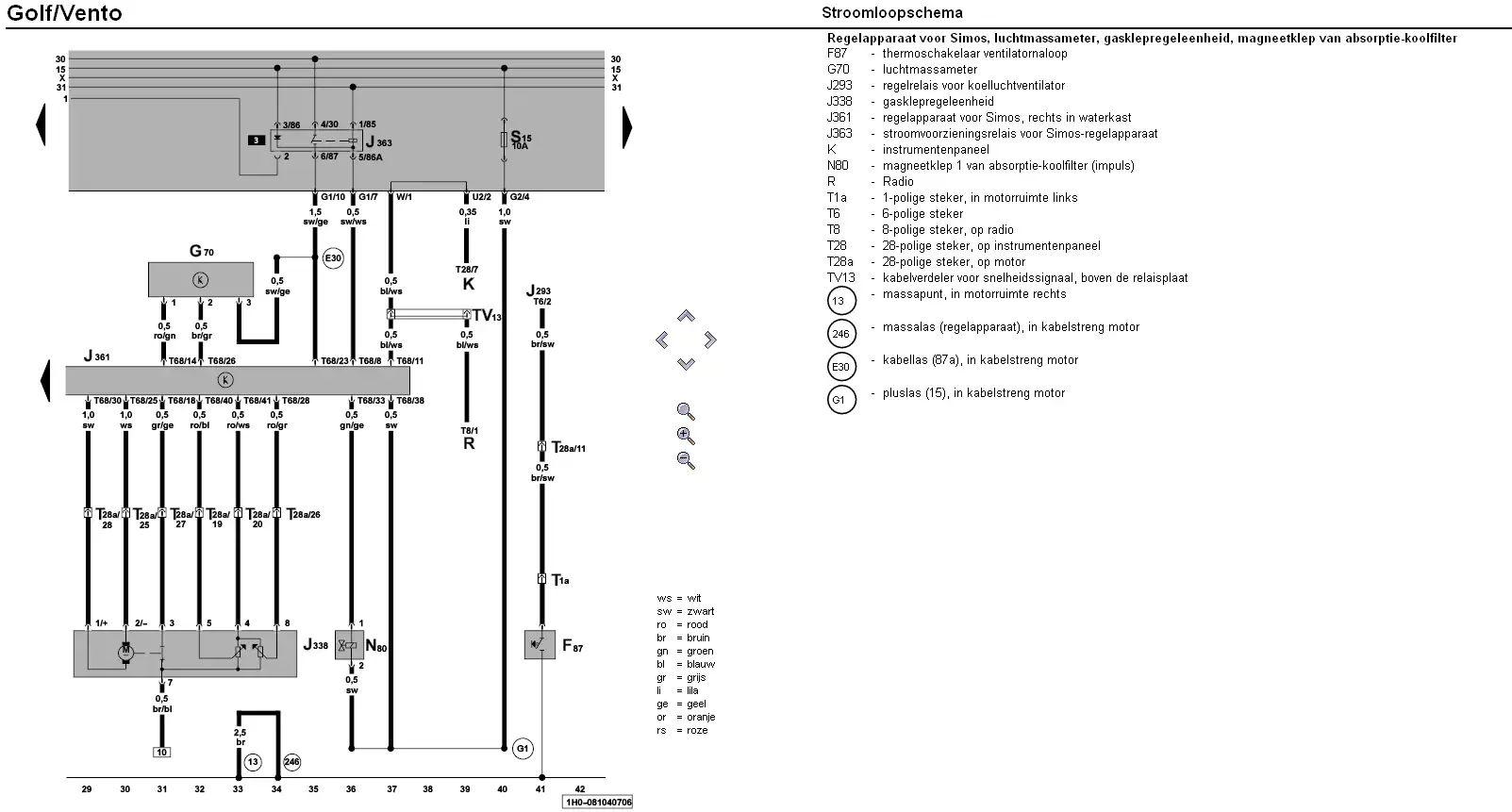 vw t5 schema cablage 2009