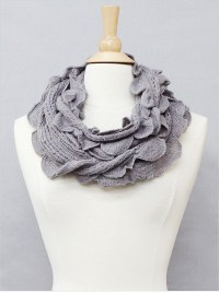 Knitted Infinity Winter Scarf | eBay